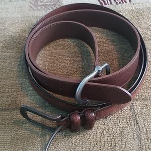 Bundle of 2 brown belts